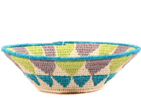 African Basket - Swaziland - Sisal Bowl -  6.25 Inches Across - #61558