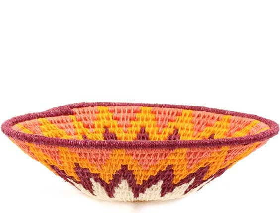 African Basket - Swaziland - Sisal Bowl -  4.75 Inches Across - #61590