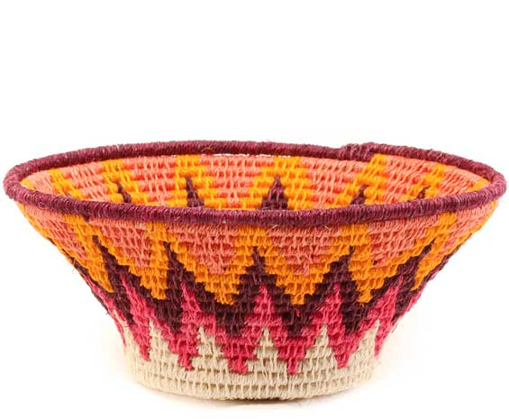 African Basket - Swaziland - Sisal Bowl -  5 Inches Across - #61592