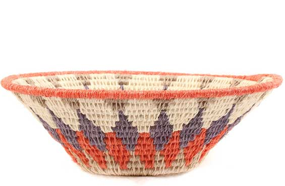 African Basket - Swaziland - Sisal Bowl -  5 Inches Across - #61598