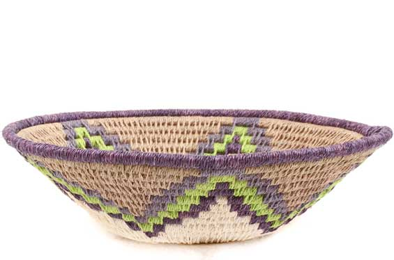 African Basket - Swaziland - Sisal Bowl -  5 Inches Across - #61620