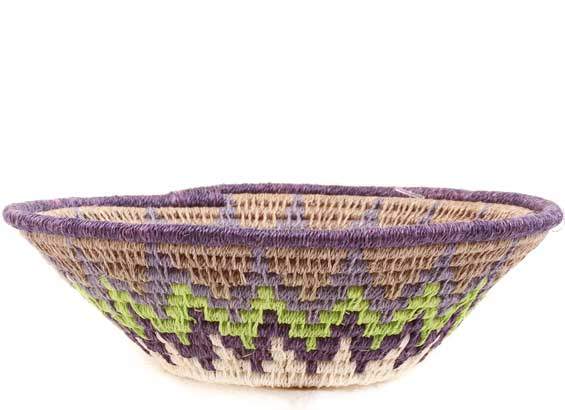 African Basket - Swaziland - Sisal Bowl -  4.75 Inches Across - #61622