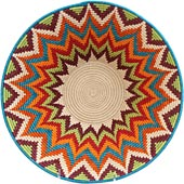African Basket - Swaziland - Masterweave Bowl - 12 Inches Across - #65606
