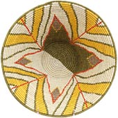 African Basket - Swaziland - Masterweave Bowl - 12 Inches Across - #65607