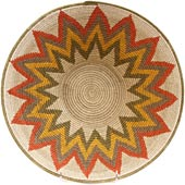 African Basket - Swaziland - Masterweave Bowl - 12 Inches Across - #65609