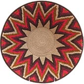 African Basket - Swaziland - Masterweave Bowl - 12 Inches Across - #65612