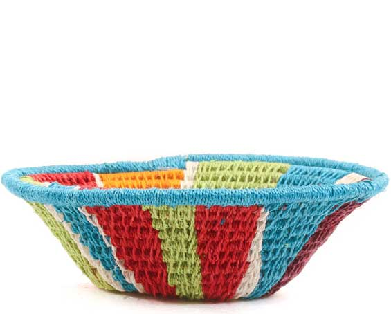 African Basket - Swaziland - Sisal Bowl -  4.25 Inches Across - #65618