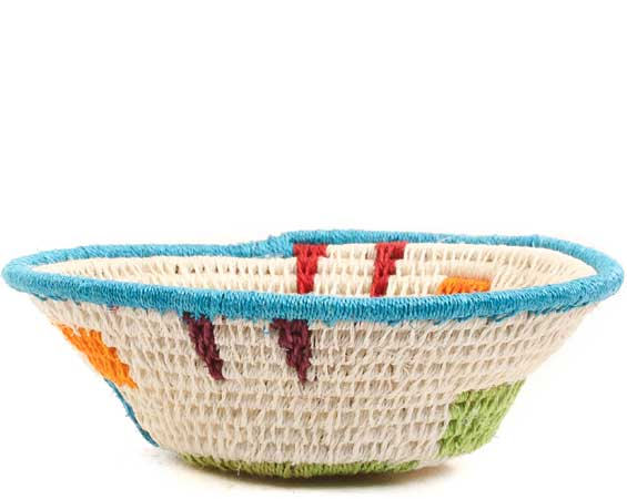 African Basket - Swaziland - Sisal Bowl -  4.5 Inches Across - #65619