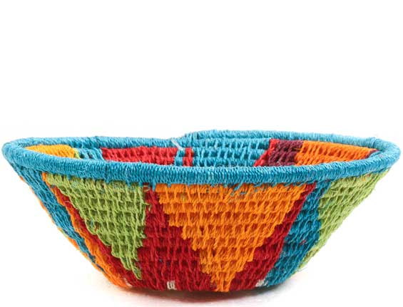 African Basket - Swaziland - Sisal Bowl -  4.5 Inches Across - #65621