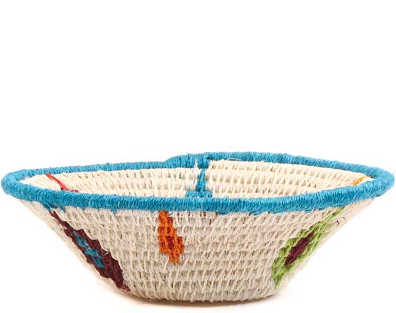 African Basket - Swaziland - Sisal Bowl -  4.5 Inches Across - #65679