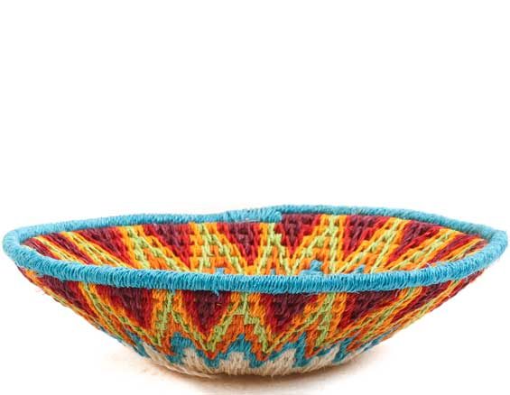 African Basket - Swaziland - Sisal Bowl -  4.75 Inches Across - #65682