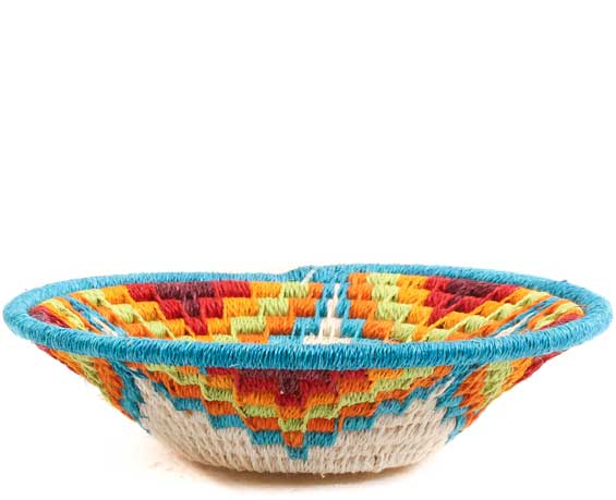 African Basket - Swaziland - Sisal Bowl -  4.25 Inches Across - #65686