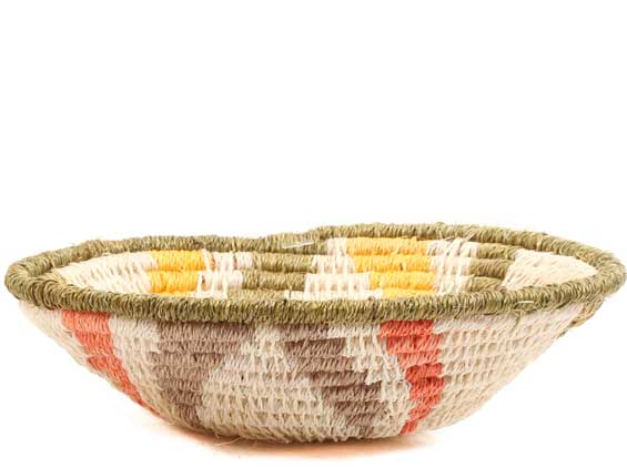 African Basket - Swaziland - Sisal Bowl -  4.5 Inches Across - #65690