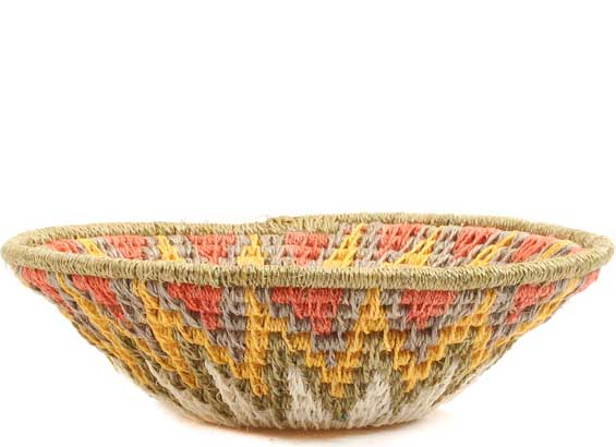 African Basket - Swaziland - Sisal Bowl -  4.75 Inches Across - #65691