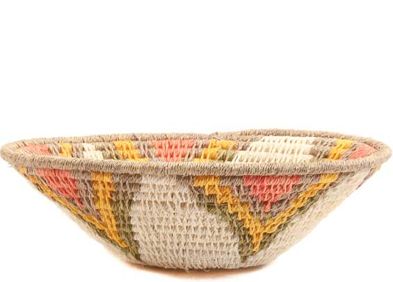 African Basket - Swaziland - Sisal Bowl -  5 Inches Across - #65694