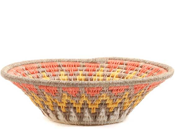 African Basket - Swaziland - Sisal Bowl -  4.75 Inches Across - #65695