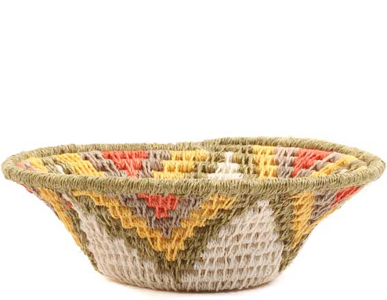 African Basket - Swaziland - Sisal Bowl -  4.5 Inches Across - #65698