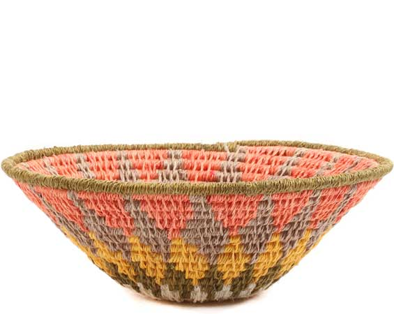 African Basket - Swaziland - Sisal Bowl -  4.75 Inches Across - #65699