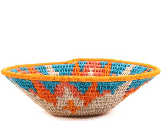 African Basket - Swaziland - Sisal Bowl -  4.75 Inches Across - #65702