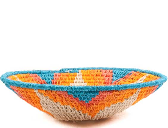 African Basket - Swaziland - Sisal Bowl -  5 Inches Across - #65703