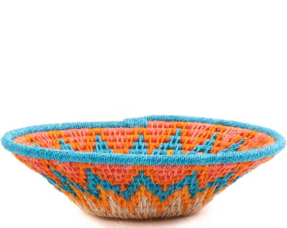 African Basket - Swaziland - Sisal Bowl -  4.5 Inches Across - #65706