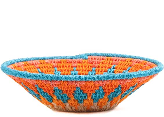 African Basket - Swaziland - Sisal Bowl -  4.5 Inches Across - #65707