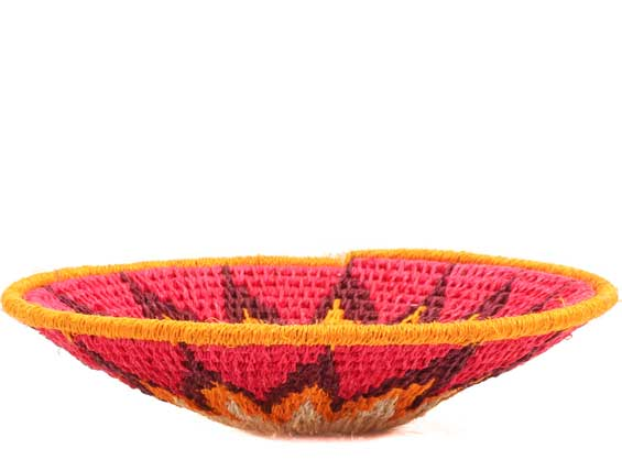 African Basket - Swaziland - Sisal Bowl -  4.75 Inches Across - #65710