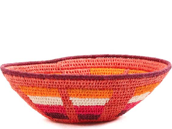 African Basket - Swaziland - Sisal Bowl -  5 Inches Across - #65715