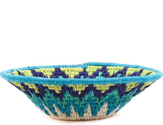 African Basket - Swaziland - Sisal Bowl -  4.75 Inches Across - #65736