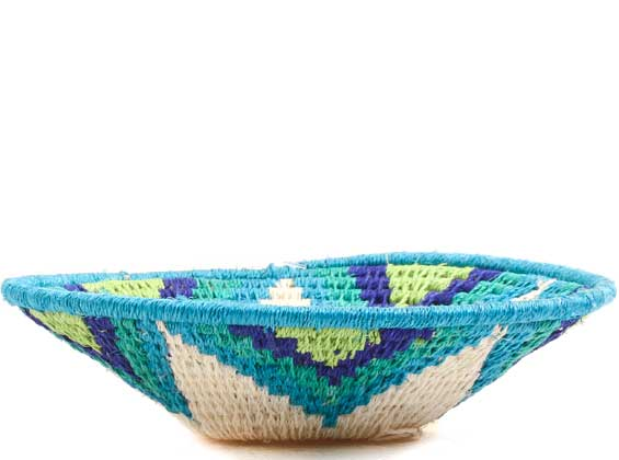 African Basket - Swaziland - Sisal Bowl -  5 Inches Across - #65740