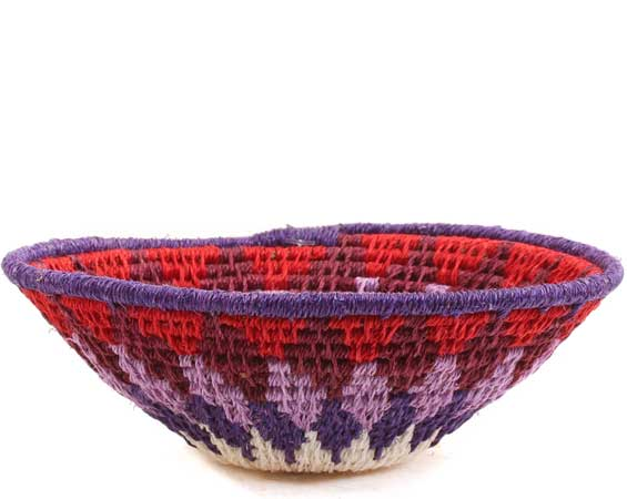 African Basket - Swaziland - Sisal Bowl -  4.75 Inches Across - #65752