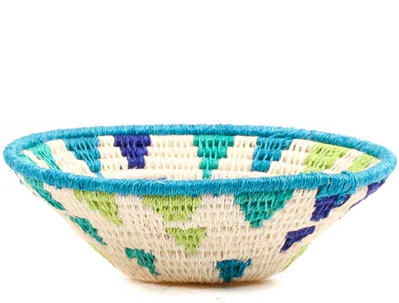 African Basket - Swaziland - Sisal Bowl -  4.75 Inches Across - #70562
