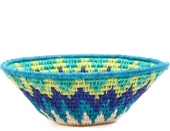 African Basket - Swaziland - Sisal Bowl -  4.75 Inches Across - #70568