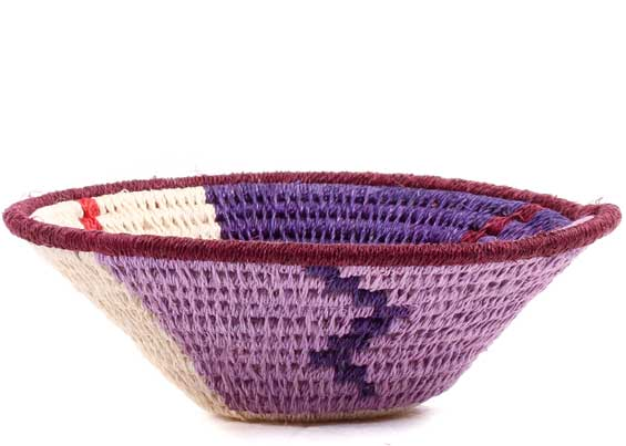 African Basket - Swaziland - Sisal Bowl -  4.5 Inches Across - #70576
