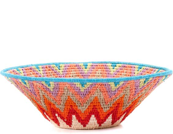 African Basket - Swaziland - Sisal Bowl -  8 Inches Across - #71523