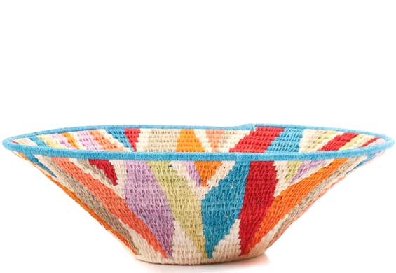 African Basket - Swaziland - Sisal Bowl -  9.5 Inches Across - #71525