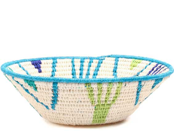 African Basket - Swaziland - Sisal Bowl -  6 Inches Across - #71557