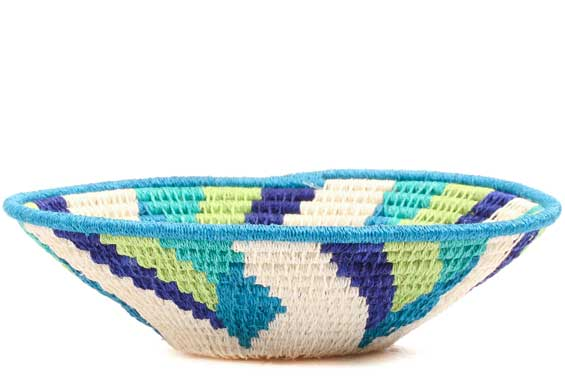 African Basket - Swaziland - Sisal Bowl -  6 Inches Across - #71559