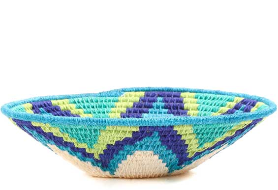 African Basket - Swaziland - Sisal Bowl -  6.25 Inches Across - #71561