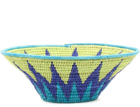 African Basket - Swaziland - Sisal Bowl -  6 Inches Across - #71565
