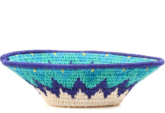 African Basket - Swaziland - Sisal Bowl -  6.5 Inches Across - #71569