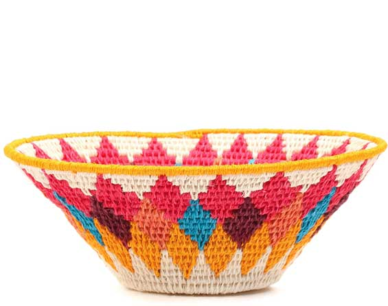 African Basket - Swaziland - Sisal Bowl -  6.5 Inches Across - #71571