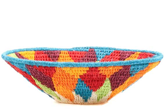 African Basket - Swaziland - Sisal Bowl -  6.25 Inches Across - #71575