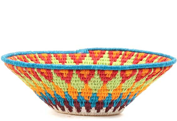 African Basket - Swaziland - Sisal Bowl -  6.25 Inches Across - #71581