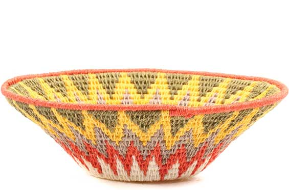 African Basket - Swaziland - Sisal Bowl -  6.5 Inches Across - #71589