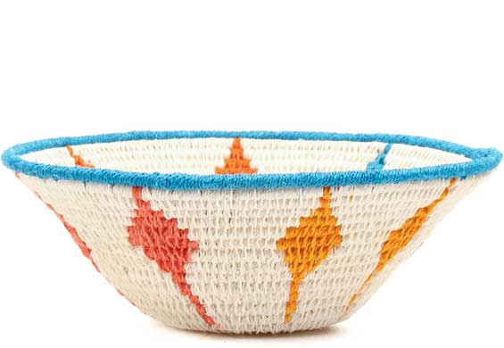 African Basket - Swaziland - Sisal Bowl -  6.25 Inches Across - #71591
