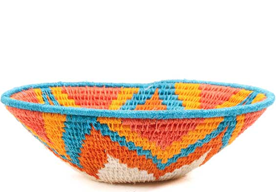 African Basket - Swaziland - Sisal Bowl -  6.5 Inches Across - #71595