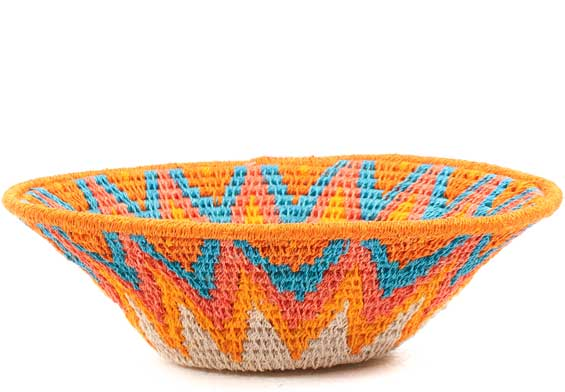 African Basket - Swaziland - Sisal Bowl -  6.75 Inches Across - #71597