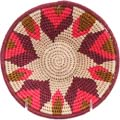 African Basket - Swaziland - Sisal Bowl -  7 Inches Across - #71609