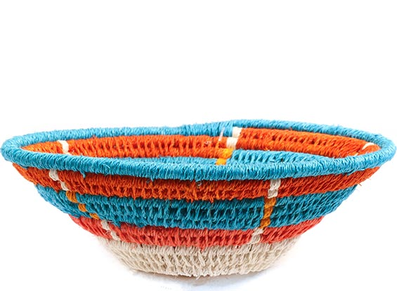 African Basket - Swaziland - Sisal Bowl -  5 Inches Across - #72658